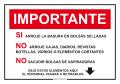Importante, Arroje La Basura en... (2)