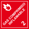 Gas Comprimido Inflamable