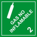 Gas No Inflamable