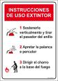 instrucciones uso extintor